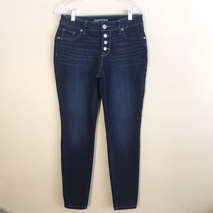 Maurices Button Fly Jegging Jean  Size Medium